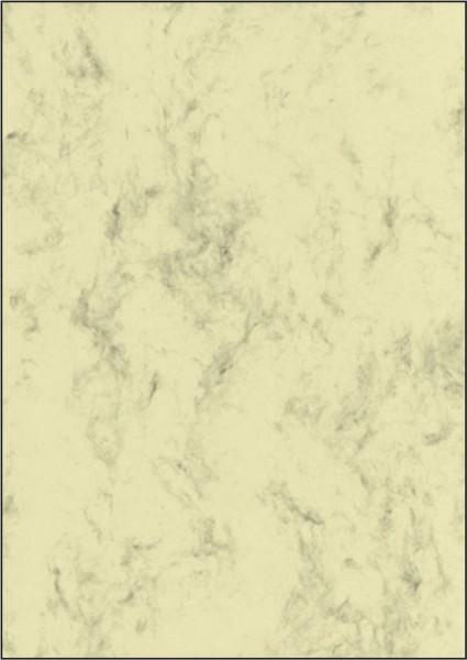 SIGEL Marmor-Papier, beige, A4, 90 g/qm, 100 Blatt
