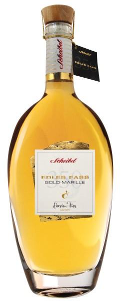 Brennerei Scheibel Edles Fass Gold-Marillen Brand