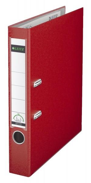 Leitz 1015 Ordner Plastik - A4, 52 mm, rot