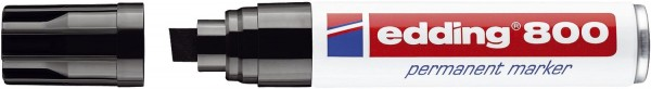 Edding 800 Permanentmarker - nachfüllbar, 4 - 12 mm, schwarz