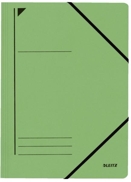 Leitz 3980 Eckspanner - A4, 250 Blatt, Pendarec-Karton (RC), grün