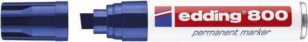 Edding 800 Permanentmarker - nachfüllbar, 4 - 12 mm, blau
