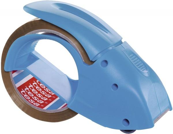 tesa® Packbandabroller Pack'n Go - blau, inkl. Packband
