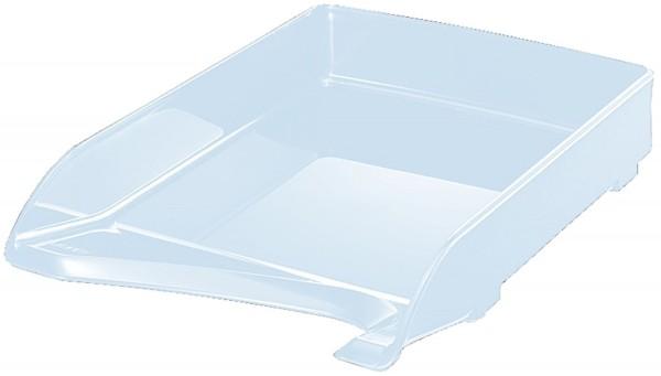 Leitz 5220 Briefkorb Elegant, A4, Kunststoff, glasklar