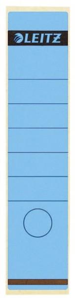 Leitz 1640 Rückenschilder - Papier, lang/breit, 10 Stück, blau