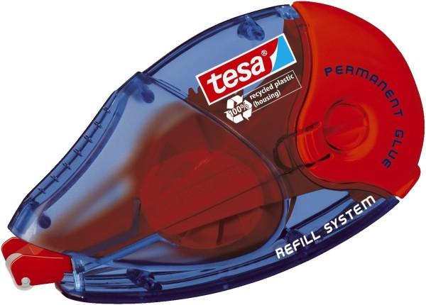 tesa® Roller ecoLogo Kleben Permanent Nachfüllroller, Bandgröße (L x B): 14 m x 8,4mm