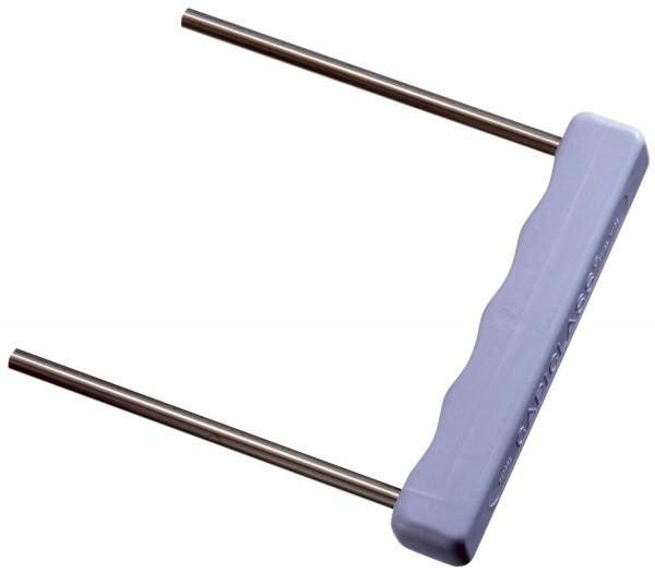 Leitz Umfüller für Abheftbügel, Metall mit Kunststoffgriff, violett