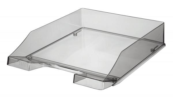 HAN Briefkorb KLASSIK A4, grau-transparent