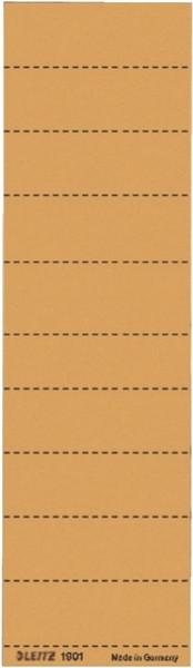 Leitz 1901 Blanko-Schildchen - Karton, 100 Stück, orange