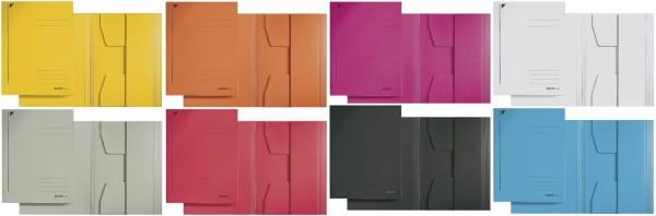 Leitz 3924 Jurismappe, A4, Colorspankarton, sortiert