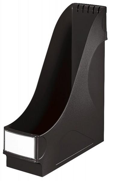 Leitz 2425 Stehsammler - extrabreit, A4, Kunststoff, schwarz