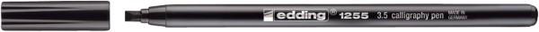 Edding 1255 Fasermaler calligraphy pen - 3,5 mm, schwarz