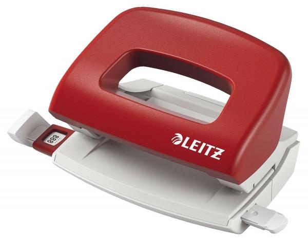 Leitz 5058 Locher Klein NeXXt, 10 Blatt, rot
