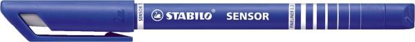 Stabilo® Fineliner sensor® - 0,3 mm, blau