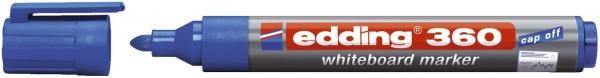 Edding 360 Boardmarker - nachfüllbar, 1,5 - 3mm, blau