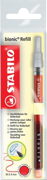 Stabilo® Tintenrollermine bionic® RB - 0,4 mm, schwarz