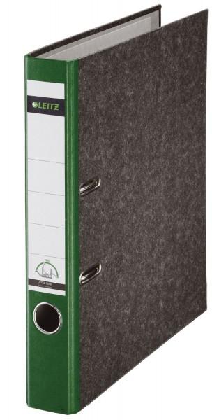 Leitz 1050 Ordner A4 Wolkenmarmor, 52 mm, grün