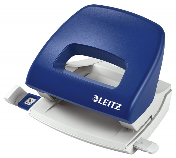 Leitz 5038 Bürolocher Klein NeXXt, 16 Blatt, blau