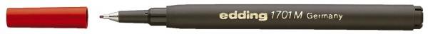 Edding 1701 M Finelinermine - Ersatzmine, 0,5 mm, rot