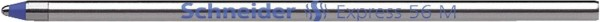 Schneider Kugelschreibermine Express 56 - M, blau (dokumentenecht)
