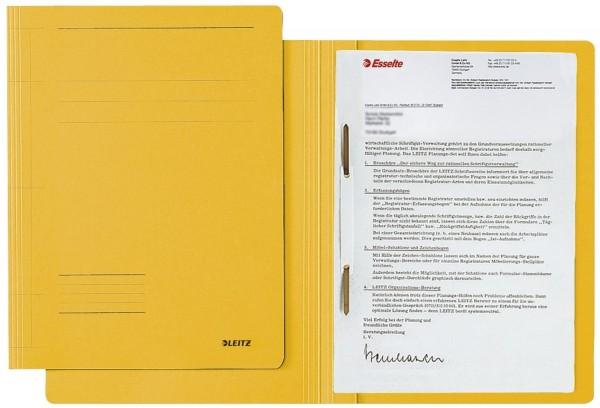 Leitz 3003 Schnellhefter Fresh - A4, Pendarec-Karton (RC), gelb