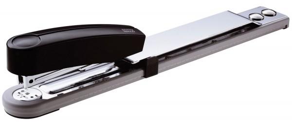 Novus® Heftgerät (Büro) B15 - Aktenheftgerät, 25 Blatt, 250 mm, lichtgrau/tiefschwarz