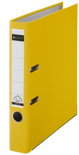 Leitz 1015 Ordner Plastik - A4, 52 mm, gelb