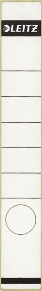 Leitz 1648 Rückenschilder - Papier, lang/schmal, 10 Stück, weiß