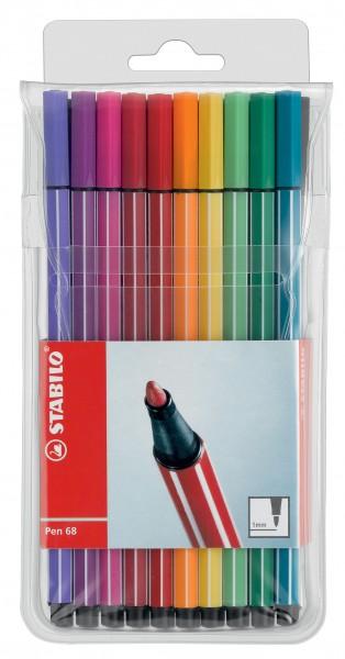 Stabilo® Fasermaler Pen 68 - Etui