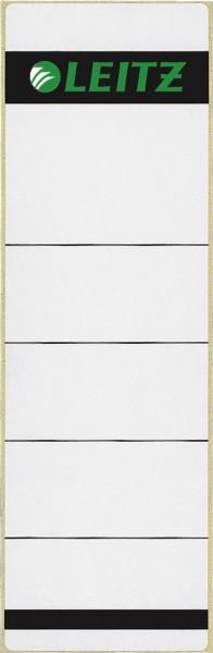 Leitz 1642 Rückenschilder - Papier, kurz/breit, 10 Stück, hellgrau