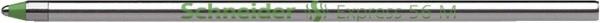 Schneider Kugelschreibermine Express 56 - M, grün (dokumentenecht)
