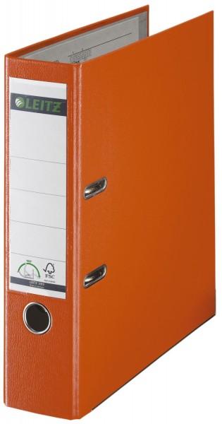 Leitz 1010 Ordner Plastik - A4, 80 mm, orange