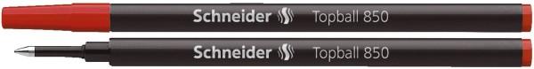 Schneider Tintenrollermine Topball 850 - 0,5 mm, rot