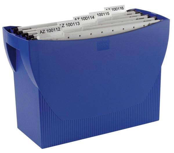 HAN Hängemappenbox SWING, für 20 Hängemappen, blau