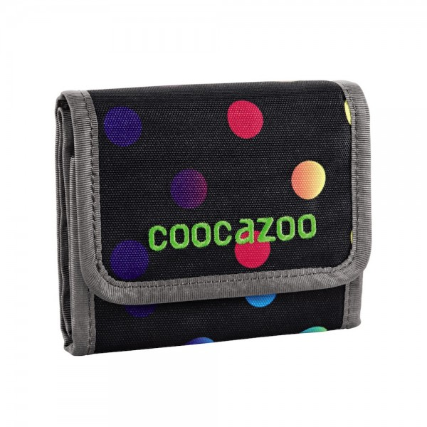 "Coocazoo Geldbeutel ""CashDash"", Magic Polka Colorful"