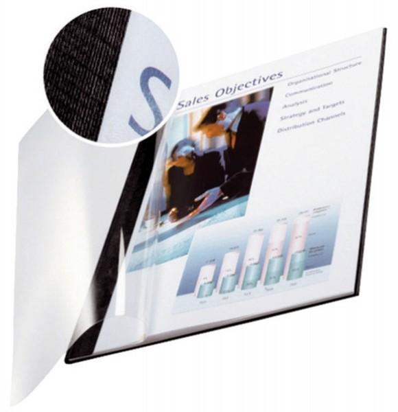 Leitz 7398 Bindemappe impressBIND - Soft Cover, A4, 3,5 mm, 10 Stück, schwarz