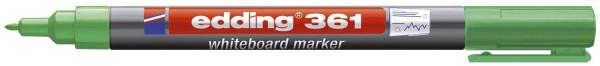 Edding 361 Boardmarker - nachfüllbar, 1 mm, grün