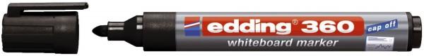 Edding 360 Boardmarker - nachfüllbar, 1,5 - 3mm, schwarz