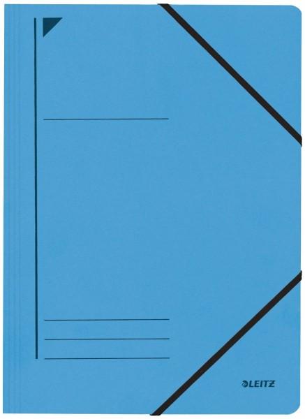 Leitz 3980 Eckspanner - A4, 250 Blatt, Pendarec-Karton (RC), blau