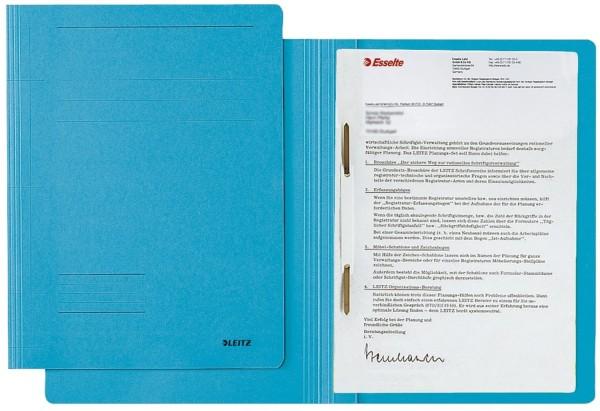 Leitz 3003 Schnellhefter Fresh - A4, Pendarec-Karton (RC), blau