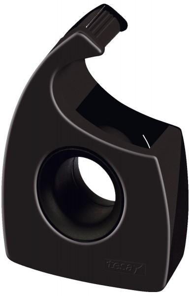 tesa® Handabroller für Klebefilm- tesa Easy Cut ®, 33 m x 19 mm, schwarz
