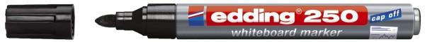 Edding 250 Boardmarker - nachfüllbar, 1,5 - 3 mm, schwarz