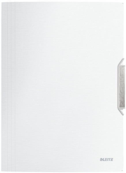 Leitz 3977 Eckspannermappe Style, A4, PP, arktiks weiß