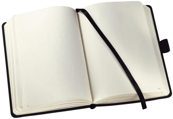 Sigel Modisch Notizbuch CONCEPTUM® - ca. A5, blanko, 194 Seiten, schwarz, Hardcover