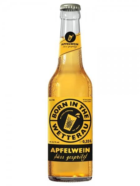 """Born in the Wetterau Apfelwein """"süss gespritzt"""""""