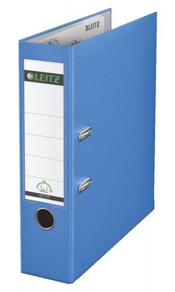 Leitz 1010 Ordner Plastik - A4, 80 mm, hellblau