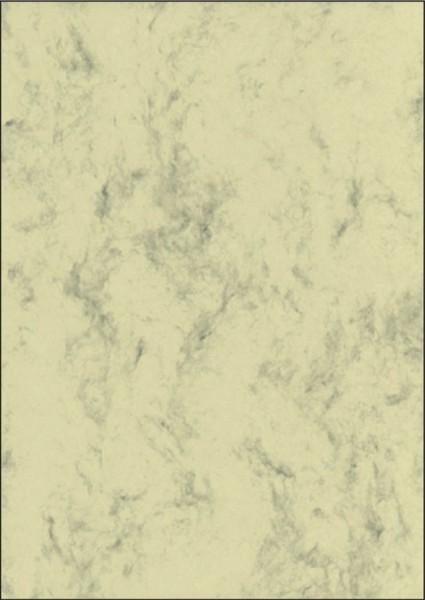 SIGEL Marmor-Papier, beige, A4, 200 g/qm, 50 Blatt