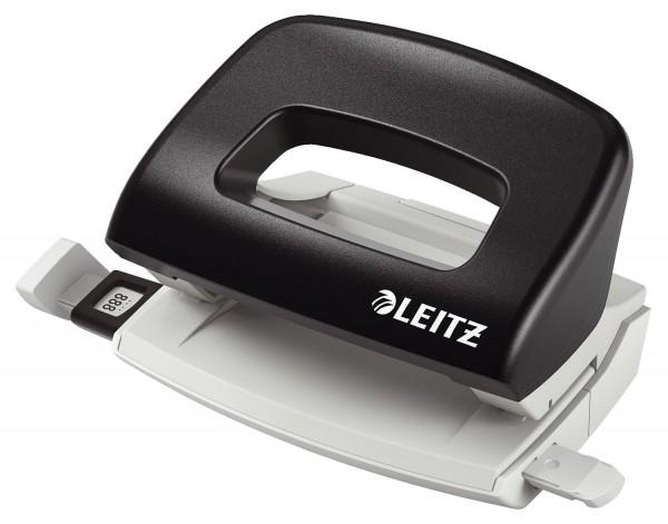 Leitz 5058 Locher Klein NeXXt, 10 Blatt, schwarz