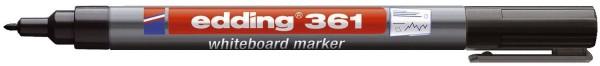 Edding 361 Boardmarker - nachfüllbar, 1 mm, schwarz