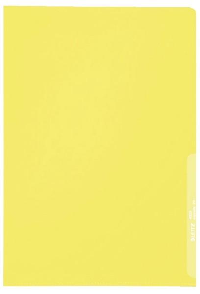 Leitz 4000 Standard Sichthülle A4 PP-Folie, genarbt, gelb, 0,13 mm